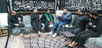 Iraqi Shias Meet Public Relations Manager of Grand Ayatollah Shirazi