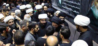 Sayed Ahmed Shirazi Visits Temporary Office of Grand Ayatollah Shirazi