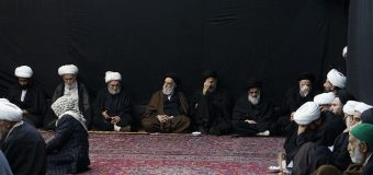 House of Grand Ayatollah Shirazi Hosts Mourning Commemorations