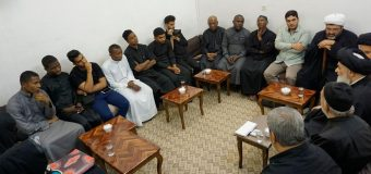 Shias from Madagascar Meet Grand Ayatollah Shirazi