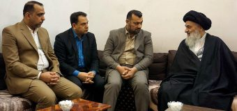 Political Activists from Iraq Meet Grand Ayatollah Shirazi
