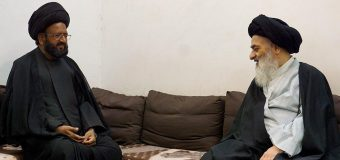 Grand Ayatollah Shirazi Meets Shia Scholar from Pakistan