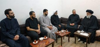 Members of Imam of Life Campaign from Kuwait Meet Grand Ayatollah Shirazi