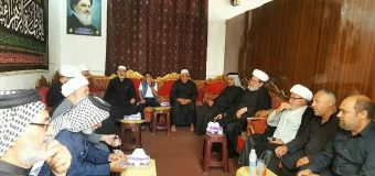 Religious and Cultural Figures Meet Director of AhlulBayt Center