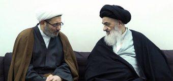 Iraqi Author and Lecturer Meets Grand Ayatollah Shirazi
