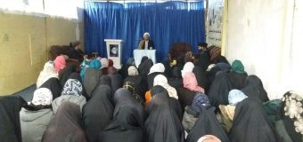 Fatima Masoumeh Seminary Hosts Director of Grand Jurist's Office in Kabul Afghanistan