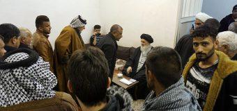 Believers from Kifl City Iraq Meet Grand Ayatollah Shirazi