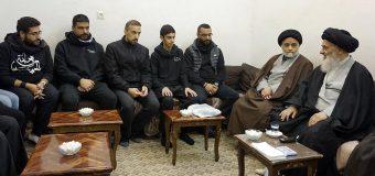 Young Religious and Cultural Activists Meet Grand Ayatollah Shirazi