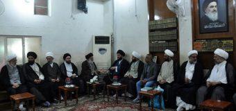 Office of Grand Ayatollah Shirazi Hosts Visitors in Holy Karbala Iraq