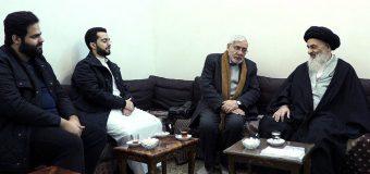 Clerics from Kuwait Meet Grand Ayatollah Shirazi