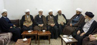 Members of AhlulBayt Institute Meet Grand Ayatollah Shirazi