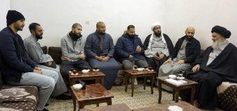 Young Activists from Kuwait Meet Grand Ayatollah Shirazi