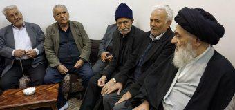 Religious Activists and Elders in Holy Qom Meet Grand Ayatollah Shirazi