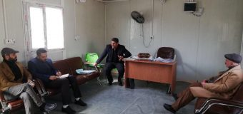 Members of Misbah Institute Meet Director of the Department of Social Welfare for the Disabled