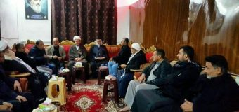 Iraqi Cultural Activists Meet Head of AhlulBayt Islamic Thought Center in Baghdad