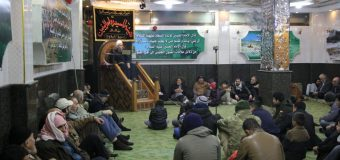 Representative of Grand Ayatollah Shirazi Delivers Speech in Damascus Syria