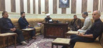 Daily Activities of the Office of Grand Ayatollah Shirazi in Basra Iraq