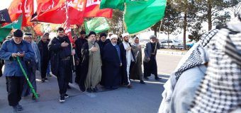 Shia Societies Association Welcomes Banat Al-Hassan Pilgrimage Caravan