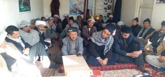 Representatives of Islamic Jurists Attend Memorials in Bamyan Afghanistan
