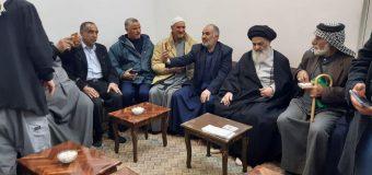 Ansar Wilaya Caravan Visits House of Grand Ayatollah Shirazi in Holy Qom