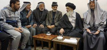 Iraqi Pilgrims Visit House of Grand Ayatollah Shirazi in Holy Qom