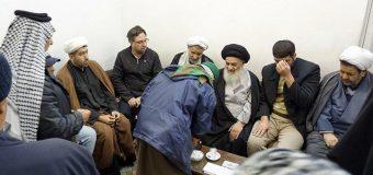 Shia Believers from Baghdad Meet Grand Ayatollah Shirazi