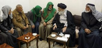 Iraqi Pilgrimage Caravan Visits House of Grand Ayatollah Shirazi