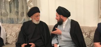 Sayed Ahmed Shirazi Attends Memorials of Lady Fatima in Kuwait