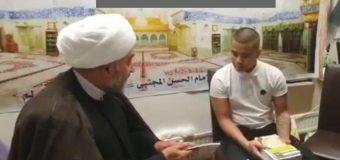 Young Swedish Embraces Shia Islam at Imam Hassan Mojtaba Center