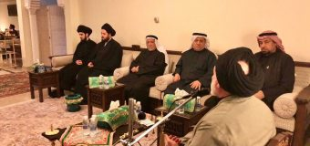 Sayed Ahmed Shirazi Attends Commemorations of Lady Fatima Peace Be Upon Her