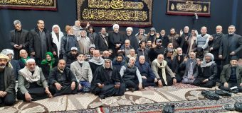 Imam Mosa Kadhim Caravan Visits House of Grand Ayatollah Shirazi