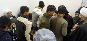 Iraqi Pilgrimage Caravan Meets Grand Ayatollah Shirazi