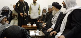Members of Ghareeb Caravan Meet Grand Ayatollah Shirazi