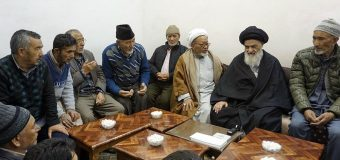 Shias from Pakistan Meet Grand Ayatollah Shirazi