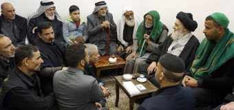 Shia Believers from Iraq Visit House of Grand Ayatollah Shirazi