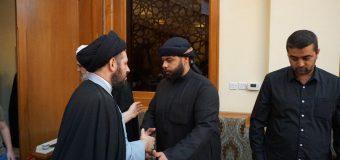 Sayed Ahmed Shirazi Attends Memorial Service of Sheikh Hassan Haeri in Kuwait