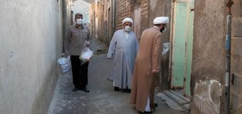 Office of Grand Ayatollah Shirazi Dispatches 2nd Round of Hygiene Items in Iran