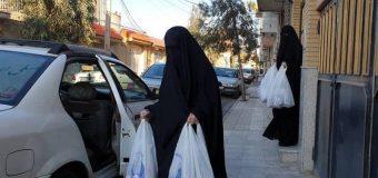 Karbalayi Ladies Join Hygiene Items Donation Programs