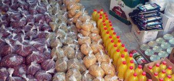 Karbalayis Community Distribute Food Basket in Kashan Iran