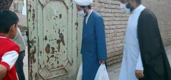 Office of Grand Ayatollah Shirazi Distributes 2nd Round of Aids in Holy Qom