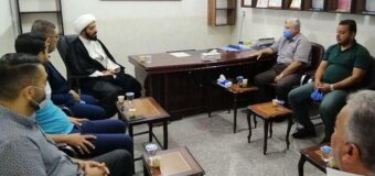 Members of Nur Al-Hassan Charity Meet Director of Misbah Al-Hussein Relief Foundation