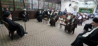The Daily Public Meeting of the Grand Jurist Ayatollah Shirazi in Holy Qom Resume