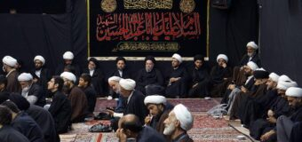 House of Grand Ayatollah Shirazi Begins to Host Commemorations of Imam Hussein (PBUH)