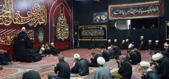 Day Four of Imam Husayn Martyrdom Commemoration at Grand Ayatollah Shirazi House