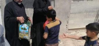 Humanitarian Programs by Office of Grand Ayatollah Shirazi in Holy Najaf