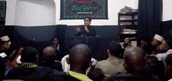 Representative of Grand Ayatollah Shirazi Delivers Lecture at Seminary in Madagascar