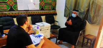 Misbah Al-Hussein Foundation Hosts Social Figures in Holy Karbala