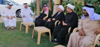 Delegation from Grand Ayatollah Shirazi Office Travels to Baghdad
