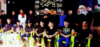 Young Activists Meet Head of AhlulBayt Islamic Thought Center in Baghdad