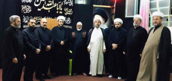Members of the Office of Grand Ayatollah Shirazi Visit AhlulBayt Islamic Thought Center in Baghdad